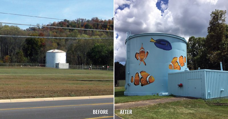 Water Tank, Reno Business Park
